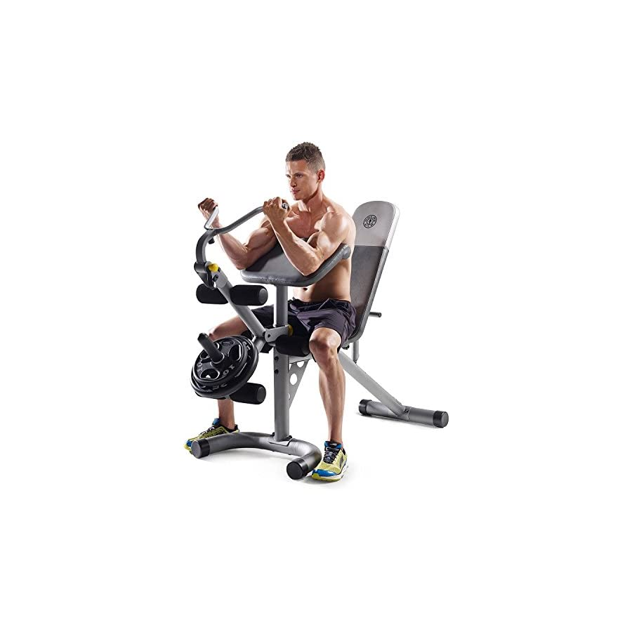 Gold's Gym XRS 20 Olympic Workout Bench (Without Rack)