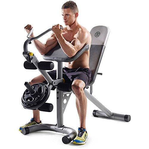 Gold's Gym XRS 20 Olympic Workout Bench (Without Rack) by Golds Gym