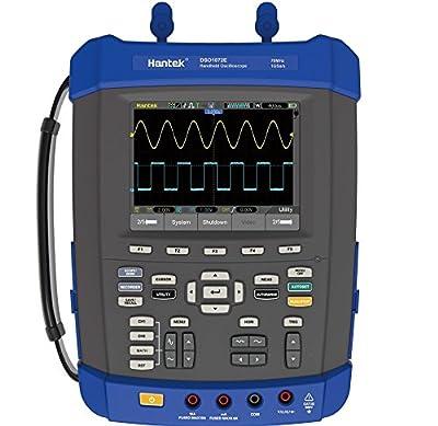 Hantek DSO1102E 100Mhz Digital Storage Oscilloscope 1GSa/s 2M Memory Depth Five in One: Oscilloscope/Recorder/DMM/ Spectrum Analyzer/Frequency Counter