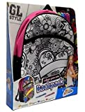 GL Style Girls Colour Your Own Backpack Childrens Craft Kit