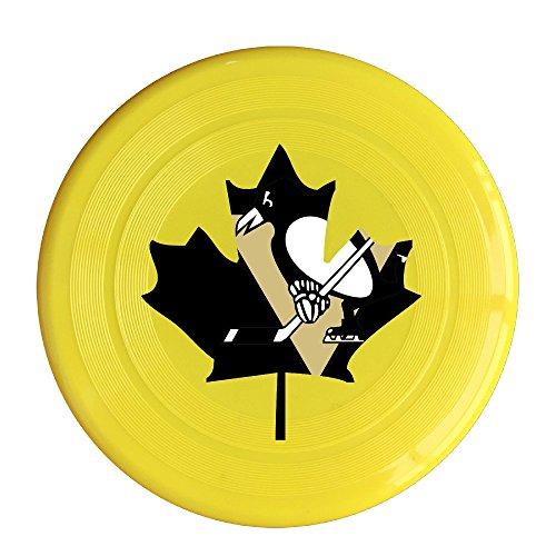 [VOLTE Maple Canada Hockey Yellow Flying-discs 150 Grams Outdoor Activities Frisbee Star Concert Dog Pet] (Hockey Stanley Cup Costume)