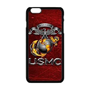 """Generic Customized Special Design USMC United States Marine Crops Department of the Navy Plastic Case Cover for iPhone6 Plus 5.5"""""""