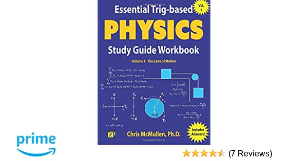 Essential Trig-based Physics Study Guide Workbook: The Laws