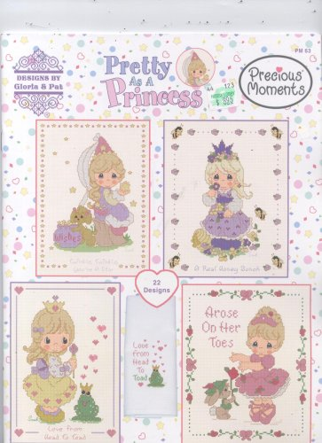 Precious Moments Pretty As A Princess Cross Stitch 22 Designs (PM 63)