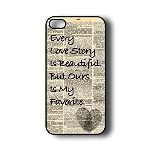 iPhone 5 Case ThinShell Case Protective iPhone 5 Case Love Story by mcsharks