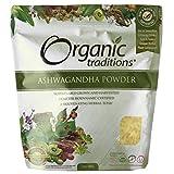 Organic Traditions Ashwagandha root powder, 200g