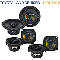Toyota Land Cruiser 1997-2012 OEM Speaker Upgrade Harmony R65 R4 Package New