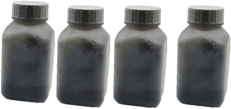 Refill Copier Laser Toner Powder Kit Kits for Konica Minolta C2400 C2430 C2500 C2530 C2550 C2480 C2490 C2590 Laser Printer 40g//Bottle,4 Black