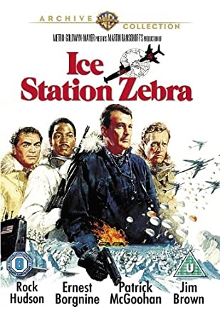 Image result for ice station zebra dvd