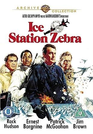 Image result for ice station zebra dvd