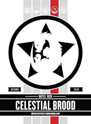 Magic: The Gathering Celestial Brood Battle Deck MTG Preconstructed Red Deck. 60 Cards. ()