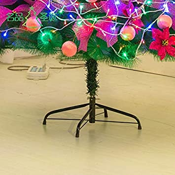 inner hole diameter 2.1cm can bear 1.2m to 2.5m high Christmas tree diameter 40cm iron material XYAO christmas tree stands