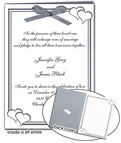 Set of 25 - Printable Blank Program Kit - Printable Blank Invitations (5