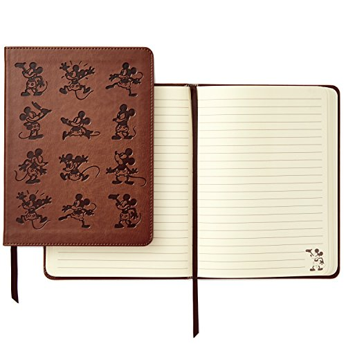Hallmark Hardcover Journal with Lined Pages (Disney Mickey Mouse) ()