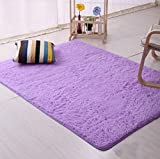 DODOING Super Thick Shag Living Room Carpet Bedroom Area Rugs Floor Rug Carpets Home Decor, 120x160cm/47.2″x62.9″