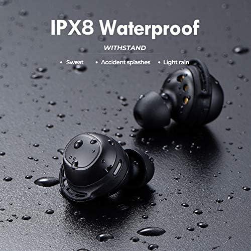 Wireless Headphones, Mpow M30 Wireless Earbuds, Immersive Bass Sound Bluetooth Headphones in Ear, IPX8 Waterproof Bluetooth Earphone Touch Control,…