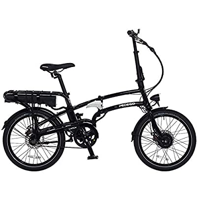 Pedego Latch Folding Electric Bicycle - Black - 36v 10Ah Battery
