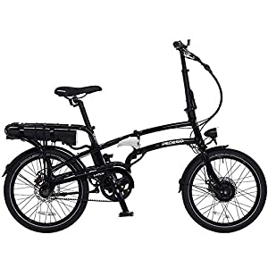 Pedego Latch Folding Electric Bicycle Black 36v 10Ah Battery
