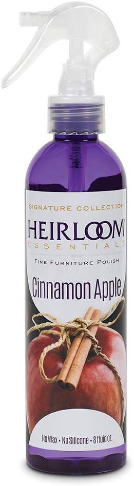 Heirloom Essentials Furniture Polish (Cinamon Apple), 8 Ounce