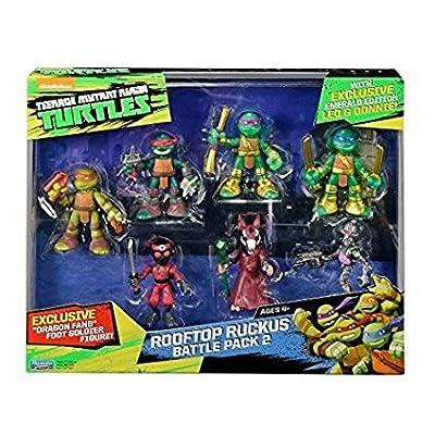Teenage Mutant Ninja Turtles Half-Shell Heroes Rooftop Ruckus Battle Pack 2
