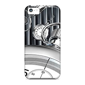 For Iphone 5c Protector Cases Clock Phone Covers