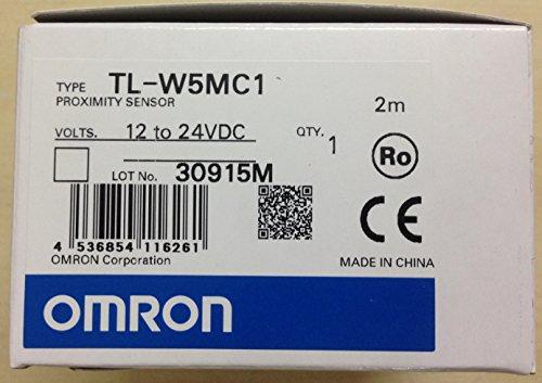 - Omron TL-W5MC1 2M Proximity Sensor NPN NO, 5mm