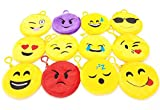 Emoji-Theme-Party-Favors-85-Piece-Set-of-Slap-Bracelets-Charms-Coin-Purses-Stickers-and-Silicone-Bracelets