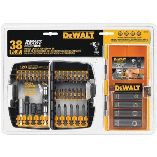 DEWDW2169 - DEWALT DW2169 38-PIECE IMPACT DRIVER ACCESSORY SET