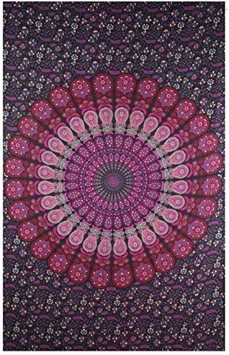 colors rajasthan Bohemian Psychedelic Tapestry product image
