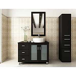 Amazon.com: JWH Living Lune 39 in. Single Bathroom Vanity