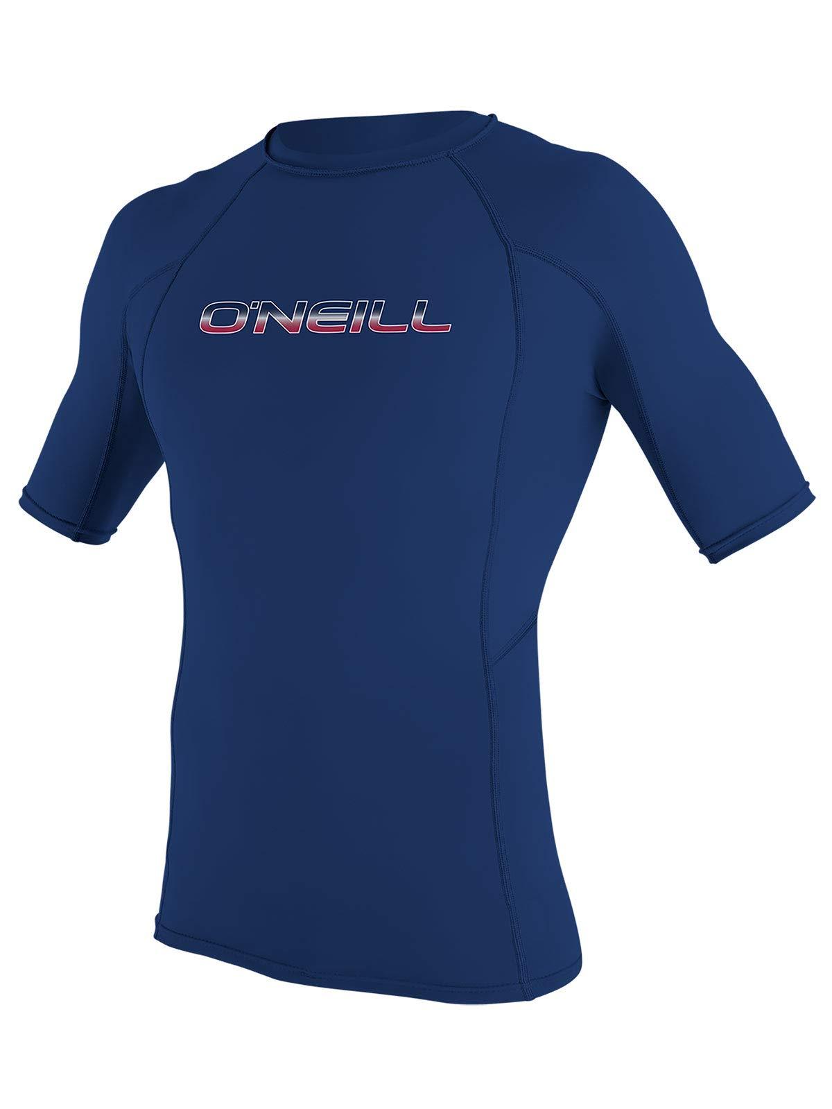O'Neill Men's Basic Skins Short Sleeve Rashguard (Navy (3341IB), 4X-Large)