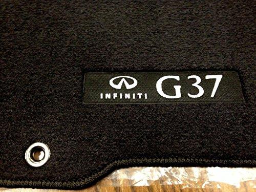 Infiniti Details about 2010 to 2013 G37 SEDAN Carpeted Floor Mats - GENUINE FACTORY OEM SET - BLACK