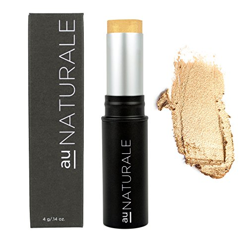Au Naturale All-Glowing Creme Highlighter Stick in The OG | Made in the USA | Organic | Vegan | Cruelty-free | Cream