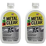 CLR MC-12 Metal Clear, 12 oz. Bottle - 2 Pack