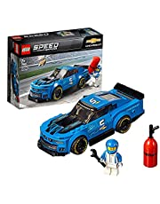 LEGO 75891 Speed Champions Chevrolet ZL1 Camaro Driver Minifigure Race Car Model Building Set, Vehicle Toys for Kids 7 Years and Older