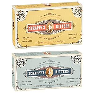 Scrappy's Bitters Classic and Exotic Gift Set Bundle