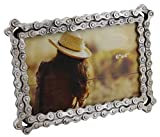 Old River Outdoors Bicycle/Motorcycle Chain Picture Frame 4' X 6' Photo - Faux Bike Chain