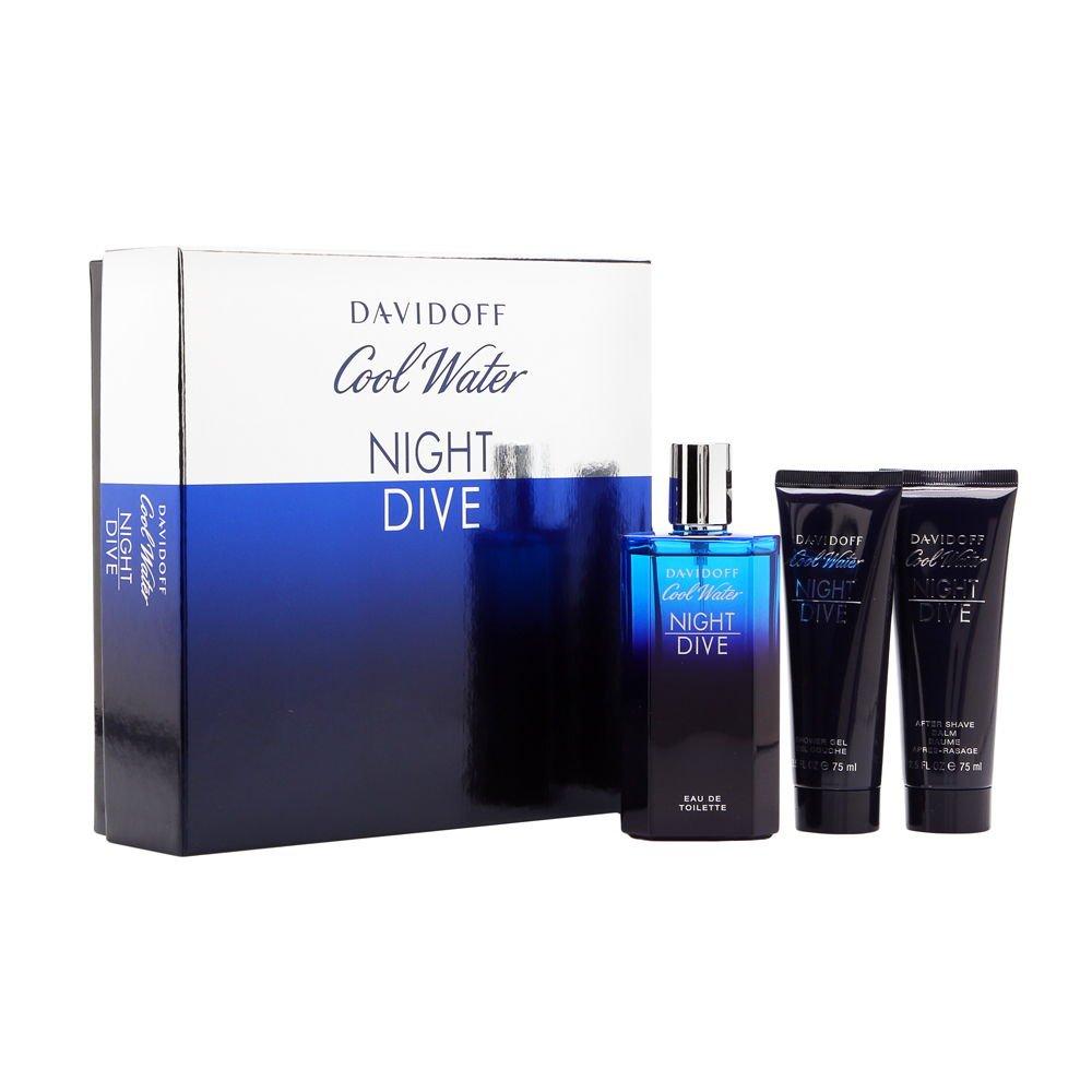 Davidoff Gift Set Cool Water Night Dive By Davidoff 3607347646860