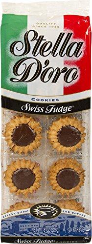 Stella D'oro Swiss Fudge Cookies, 8 Ounce