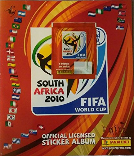 5be716c2b Image Unavailable. Image not available for. Color: Panini 2010 World Cup  South Africa Empty Sticker ...