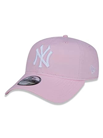 BONE 920 NEW YORK YANKEES MLB ABA CURVA STRAPBACK ROSA NEW ERA ... 9410c6d7031ad
