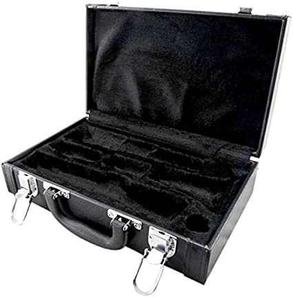Sky Lightweight CLHC003 ABS Sturdy Clarinet Case Black//Black