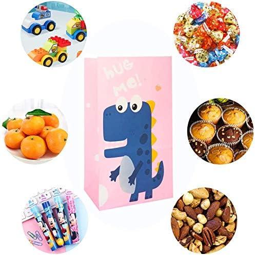 40St/ück Dinosaurier Partyt/üten,Geschenkt/üten Dino,Partyt/üten Papier,T/üten Papier Geschenk f/ür Kindergeburtstag Dinosparty