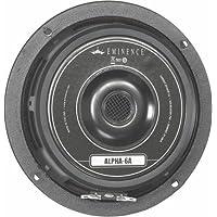 Eminence Alpha 6A 6 Midrange Speaker, 8 Ohm, 100 Watt