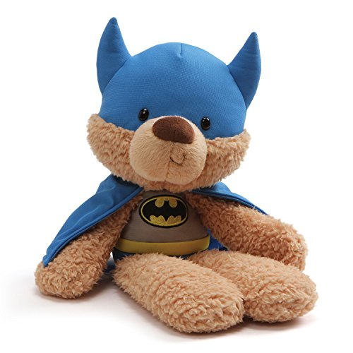 - GUND DC Comics Universe Fuzzy Bear Batman Plush, 14