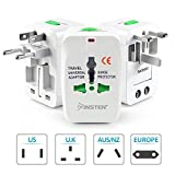 Insten Worldwide Universal Travel Wall Charger Adapter Plug