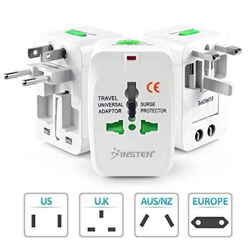 Insten Universal World Wide Travel Charger Adapter Plug,