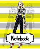 "Notebook: Gwen Stefani American Singer No Doubt Music Band R&B, Electro, And J-pop, Large Notebook for Drawing, Doodling or Writting: 110 Pages, 7.5"" ... ( Blank Paper Drawing and Write Notebooks )"