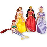 Girls Fairy Tale Princess Collection Set of 4 Dolls