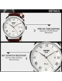 Amazon.com: Quartz - 35mm to 39mm / Wrist Watches / Watches: Clothing, Shoes & Jewelry